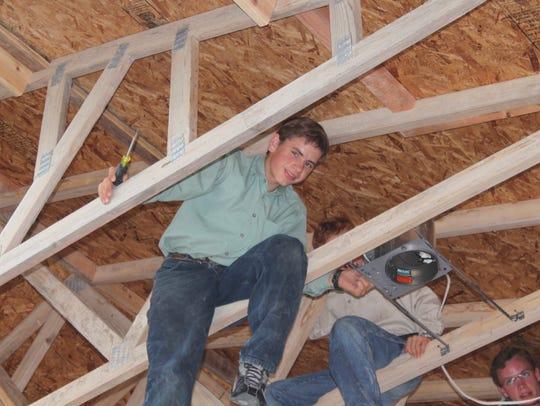 Raymond Jeffs at the YFZ Ranch compound in Eldorado,