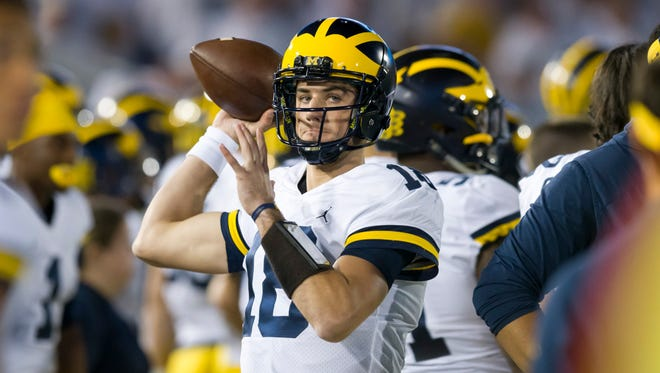 Brandon Peters will be Michigan's starting quarterback for the Outback Bowl.