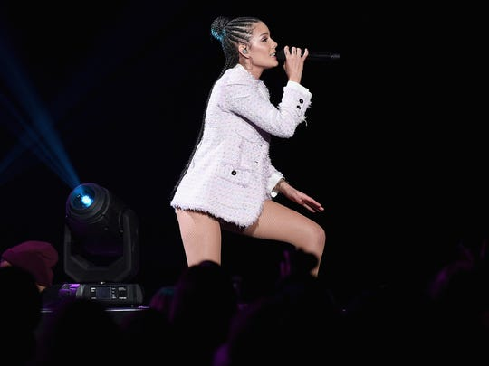 Halsey will perform July 17 at the Farm Bureau Insurance