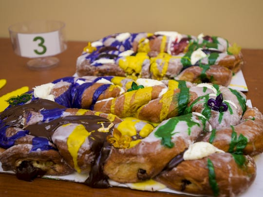 Meche's Donut King is known for its doughnut-inspired king cake.