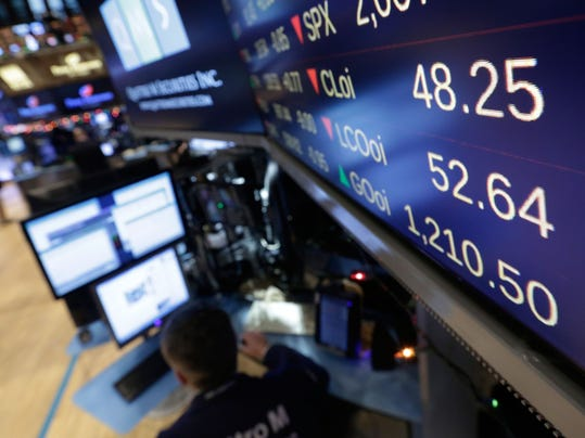 Financial Markets Wall Street Oil Prices