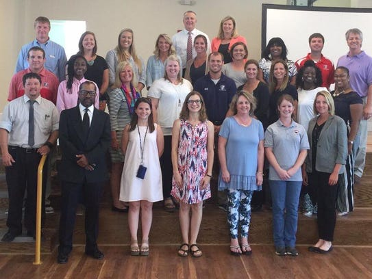 About 45 new teachers will be helping students and