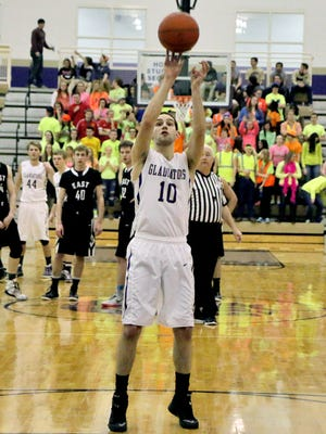 Connor Collins and the Fowlerville Gladiators hope to continue the school's best season in five years tonight in the first round of the state tournament.