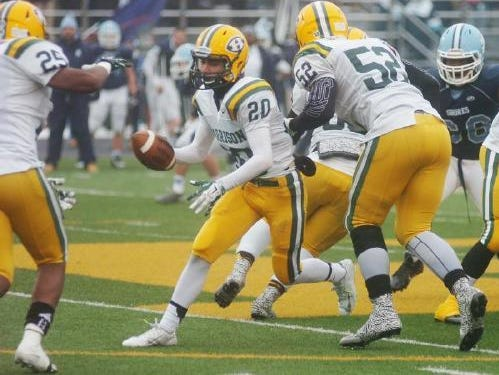 Senior Anthony Giovanni is among Harrison's experienced players.