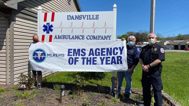 Dansville Ambulance Company was recognized as the 2019 MLREMS Agency of the Year. The agency was recognized above more than 30 other agencies in the region.