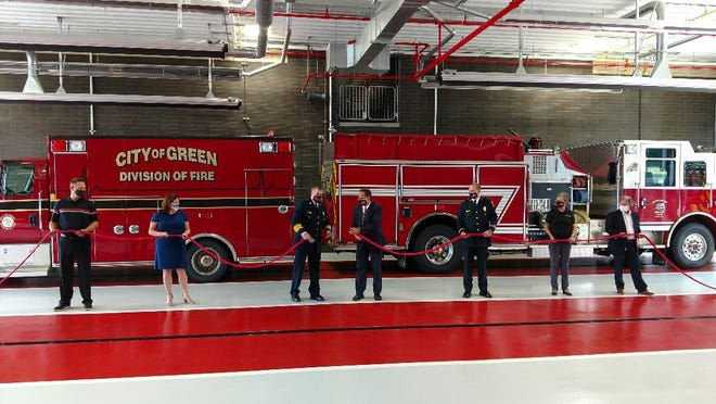 The city of Green held a ribbon cutting celebration for the new Fire Station No. 3 on Sept. 2. The station is on the corner of Mayfair and Raber roads.