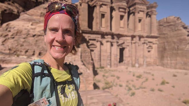 Monmouth native and ultra runner Amy Sproston is the first woman to run the Jordan Trail. She also now holds the record for fastest known time, finishing the 400-mile journey in eight days, nine hours and 28 minutes.