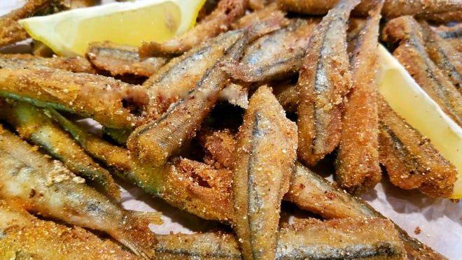 Crunchy Fried Smelt.