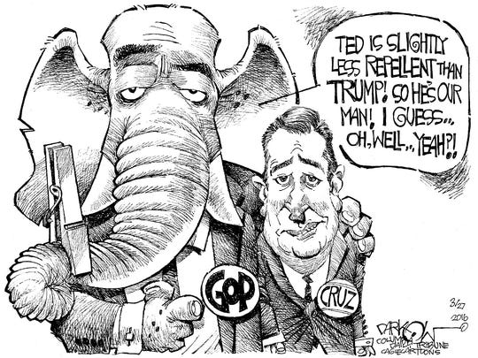 GOP holds its nose