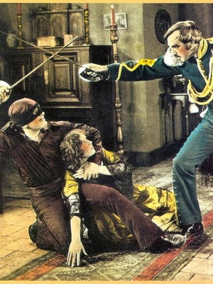 """The 1920 silent film """"The Mark of Zorro"""" starring Douglas Fairbanks has been hailed as the first true action-adventure movie."""