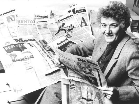 Mary Adelaide Gardner, a legendary journalism professor