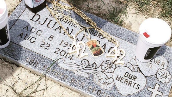 "The gravesite of Djuan ""Neff"" Page"