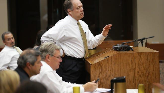 University Medical Center of El Paso CEO Jim Valenti