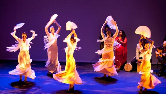 A'lante Flamenco performs Thursday night at the Mississippi Museum of Art.