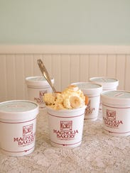 The Banana Pudding at Magnolia Bakery is offered at