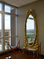 The mirror was donated by an heir of the Franklin House