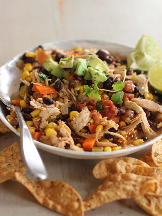 Food Healthy Mexican Chicken Stew (5)
