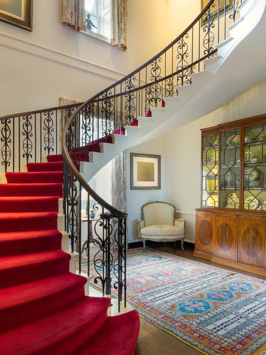 Hudson Pines staircase