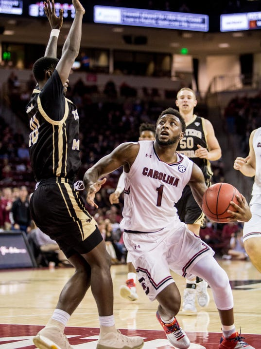 NCAA Basketball: Western Michigan at South Carolina