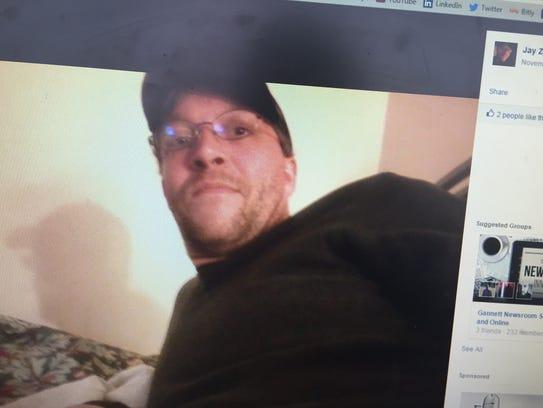 Jonathan Zampieri, 33, of Montpelier, via his Facebook