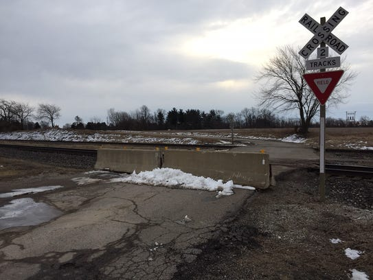 The state has permanently closed the CSX railroad crossing