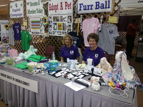 The two-day home and garden show is hosted at the Ruidoso