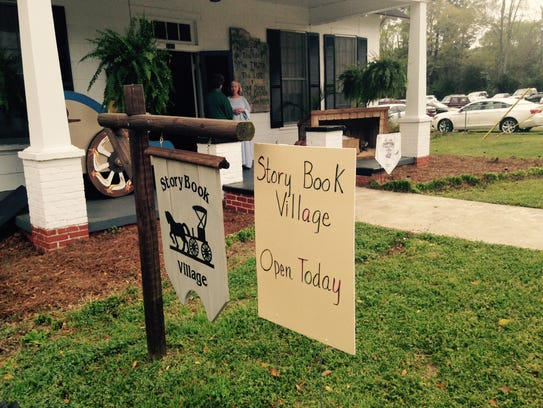 The Storybook Village in downtown Prattville combines