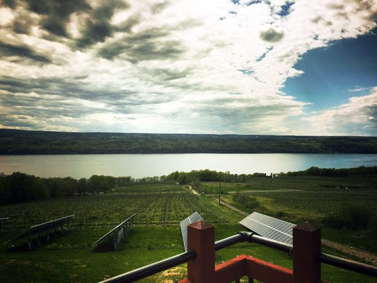 Located on the eastern shore of Seneca Lake, Two Goats