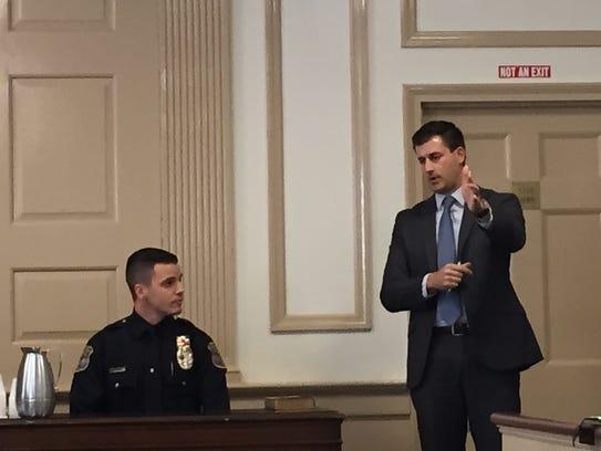 Morris County Assistant Prosecutor Matthew Troiano,