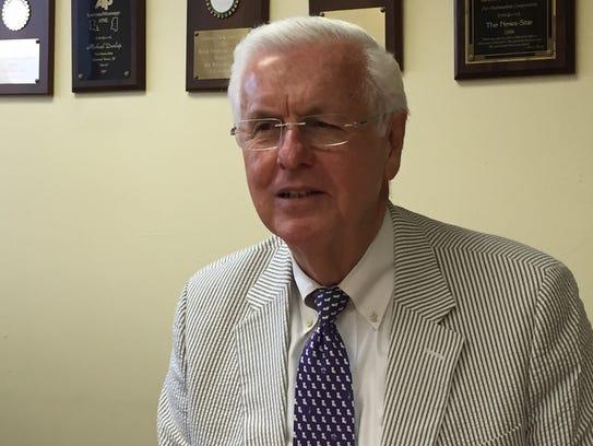 Louisiana Insurance Commissioner Jim Donelon speaks