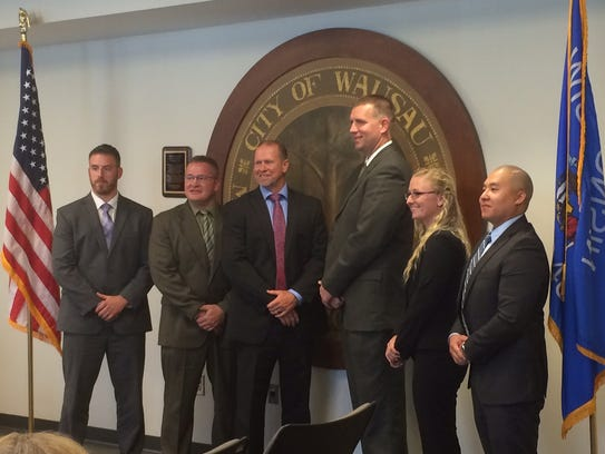 New Wausau Police Officers.