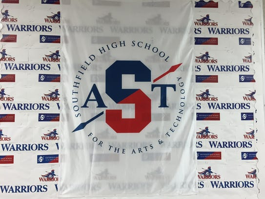 The logo for the new Southfield High School for the