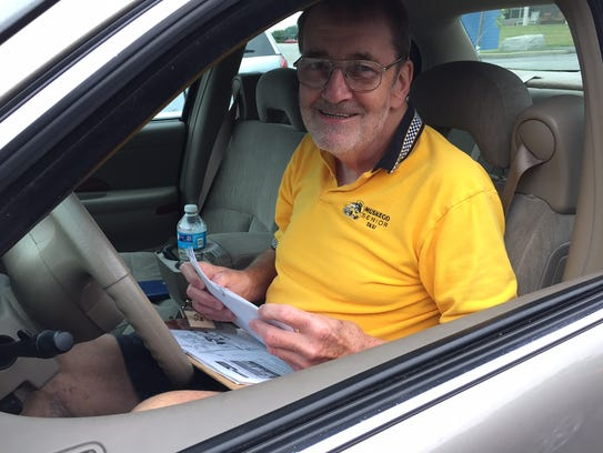 Michael Manthy has been a Muskego Senior Taxi volunteer