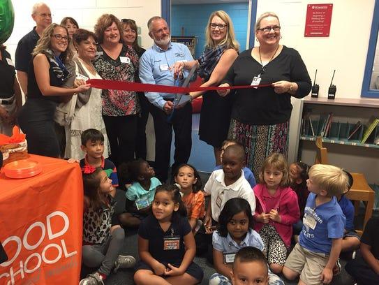 "Orangewood Elementary School has opened its new ""Reading"