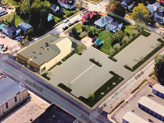 An image filed with a zoning variance petition shows