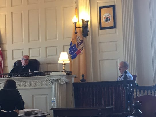 Superior Court Judge Paul Armstrong, sitting in Morristown,
