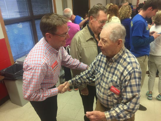 Lexington mayor Jim Gray, running for the US Senate,