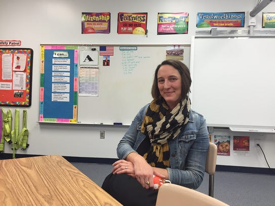 Liz Parker is a school counselor at Hominy Valley Elementary