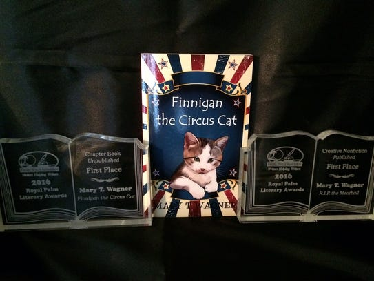 """""""Finnigan the Circus Cat"""" took home first-place in"""