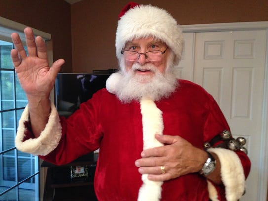 Bonita Springs' Bill James has played Santa for 49