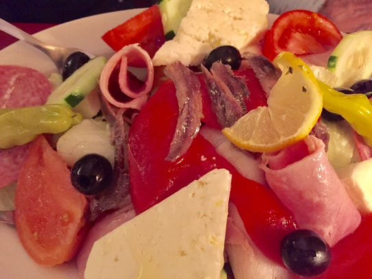 Antipasto for two at Little Italy.