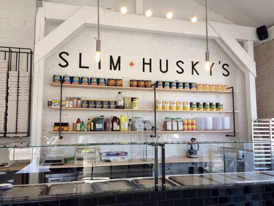 Slim & Husky's has unique pizza combinations with healthier