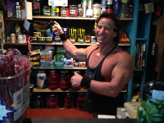Jersey Shore bodybuilding legend Gary Kamil at his