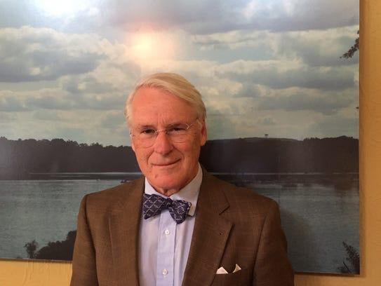 Harding Township Committeeman Nicolas Platt, a GOP