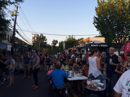 Oaklyn Final Fridays is one of the bigger food truck events in Camden County.
