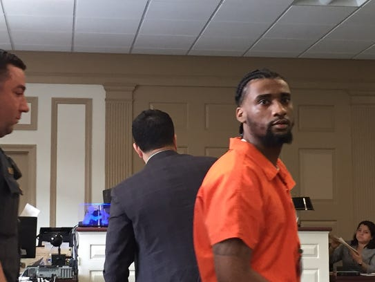 Tyrell Lansing after his sentencing on June 2, 2017