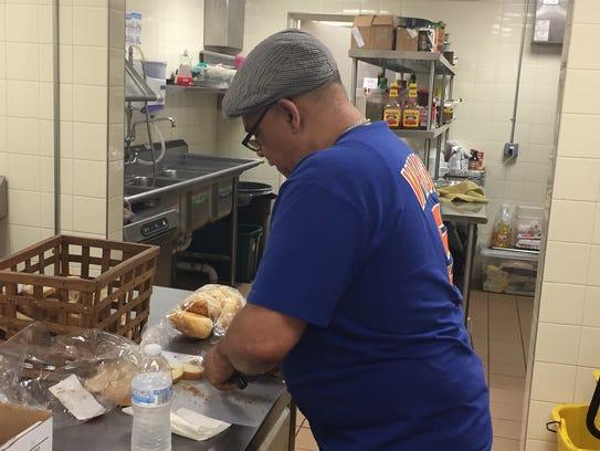 Michael Williams, chef at Table of Hope at Bethel Church