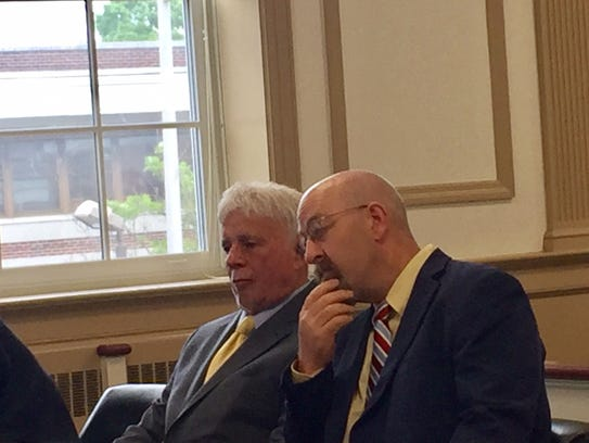 "From left, suspended attorney Richard ""Richie"" Roberts"