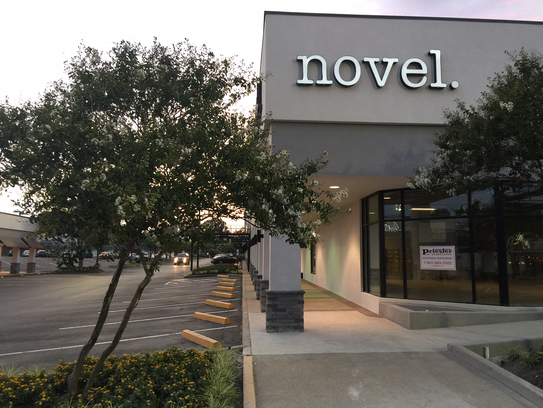 Novel is located at Laurelwood Shopping Center.