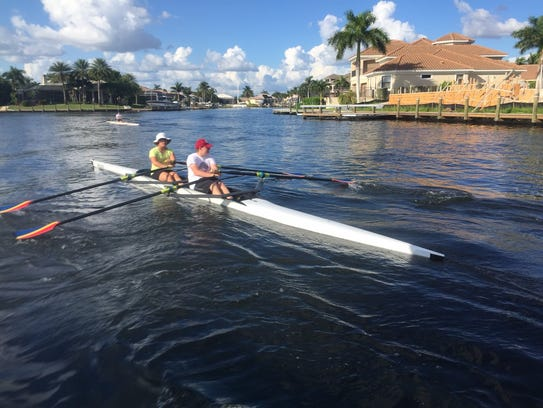 Caloosa Coast Rowing Club offers a healthy, competitive